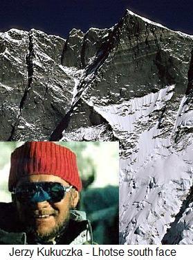 Jerzy Kukuczka - Lhotse south face