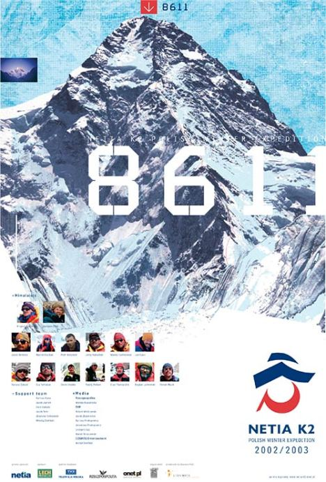 Polish winter expedition to K2, 2002/3 poster