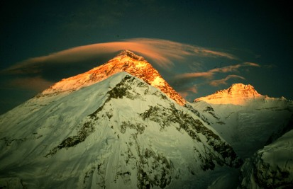 Everest - photo by Ryszard Pawłowski - Polish International Mt Everest expedition 99