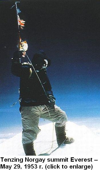 Tenzing Norgay - Everest 1953 New