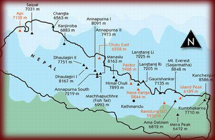 Trekking in Nepal Himalaya. /Version english/