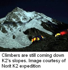 K2 Dead Bodies ... on K2, 2008 climbing season – Pakistan wrap-up. More from K2