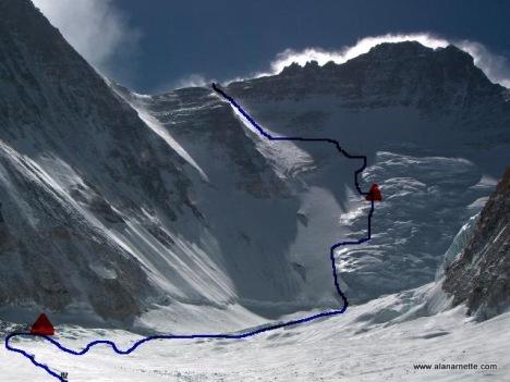 lhotse-face-route