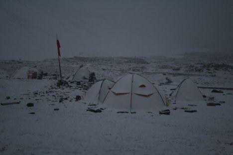 baza w sniegu