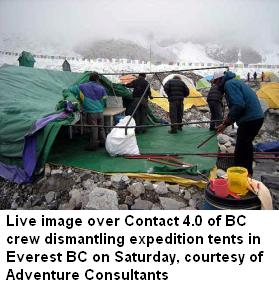 Everest BC packing New