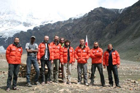 Nanda Devi East Expedition 2009 team