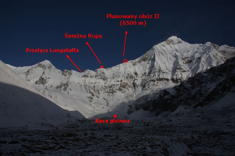 nanda devi east expedition 2009 part 6 polish to