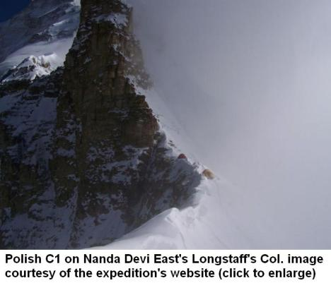 Polish C1 on Nanada Devi East New