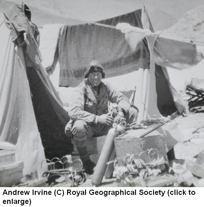 Andrew Irvine  New