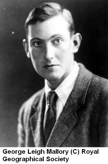 George Leigh Mallory New