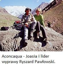 Aconcaqua Joasia z liderem New