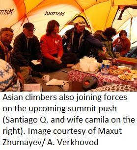 Asian climbers