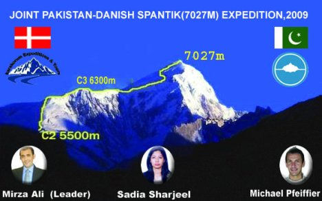 Joint Pakistan-Danish Spantik Expedition 2009