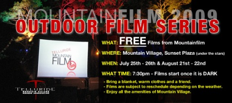 mountainfilm festival in Telluride