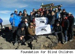 Blind Climbers Summit Kilimanjaro