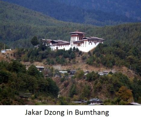 Jakar-dzong in bumthang