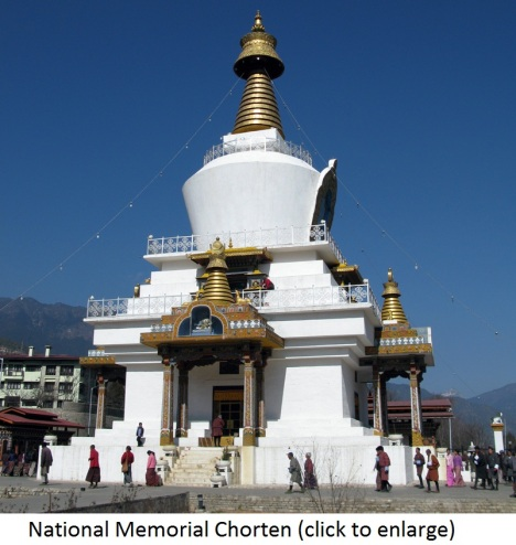 national-memorial-chorten-in-thimphu