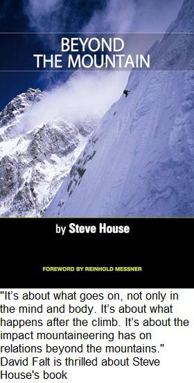 """Steve House's -""""Beyond the Mountain"""""""