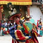 tsechu festival dance in-bhutan