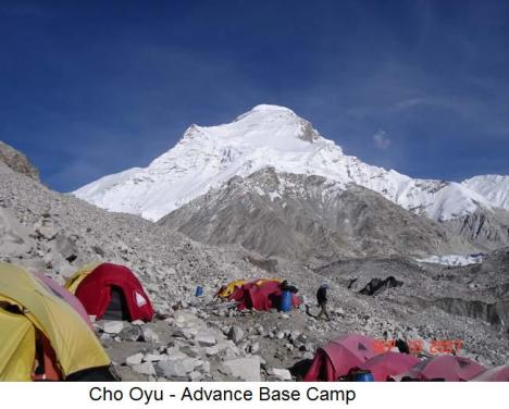 Cho Oyu - Advance Base Camp1