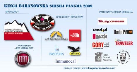 Kinga Baranowska - Shisha Pangma 2009 poster