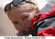 Kinga Baranowska Shisha Pangma 2009