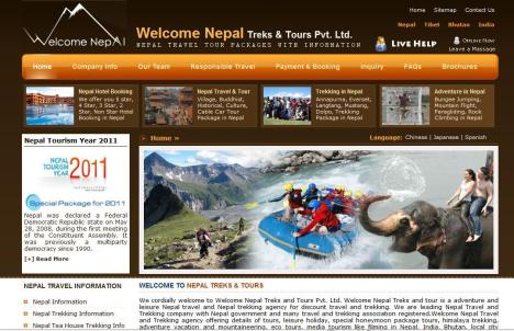 nepaltourstravel.com New