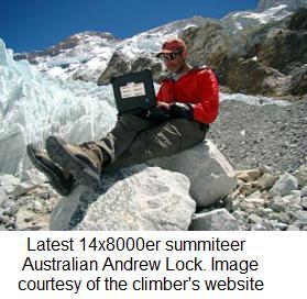Australian Andrew Lock