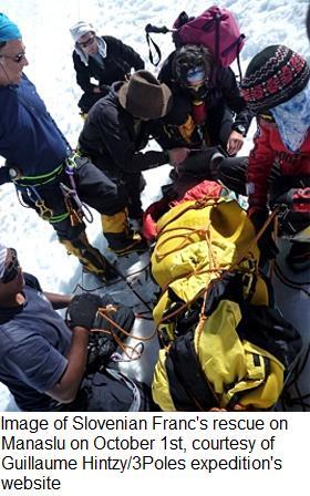 Manaslu rescue 1oct 2009