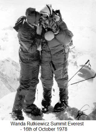 Rutkiewicz – Summit Everest