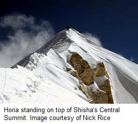 Shisha Pangma Central Summit Horia