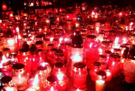 święto zmarłych lampki