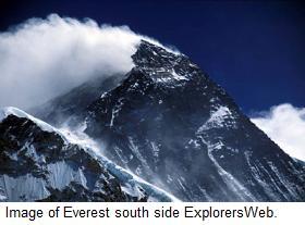 Everest south side