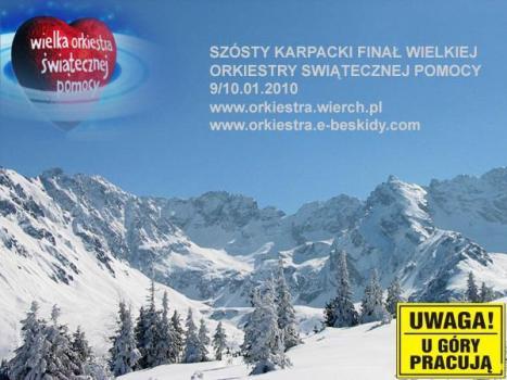 Szósty Karpacki Finał Wielkiej Orkiestry Świątecznej Pomocy