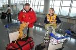Annapurna 2010 lotniskoWwa Kinga Baranowska i Piotr Pustelnik