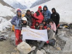 PYO training Session,the training conducted at Malanguti Glacier